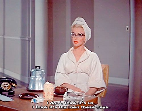 When she showed you how to win the blame game: | Community Post: 26 Times Marilyn Monroe Taught You A Thing Or Two About Romance