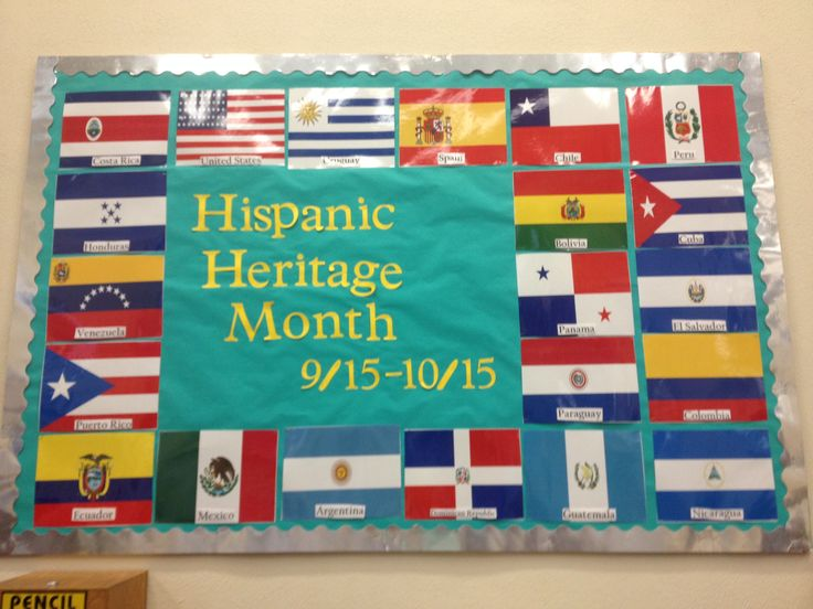 7 best hispanic heritage month images on Pinterest | Hispanic ...