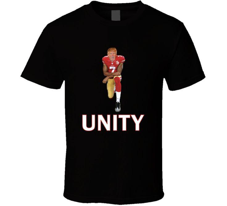 Donald Trump Kneeling Unity Colin Kaepernick Take A Knee T-shirt