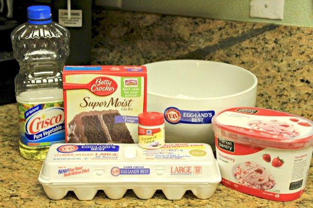 Easy Baked Alaska! #recipe #dessert