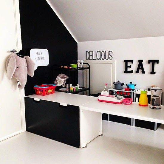 mommo design: HACK AND PLAY ...Stuva kitchen island