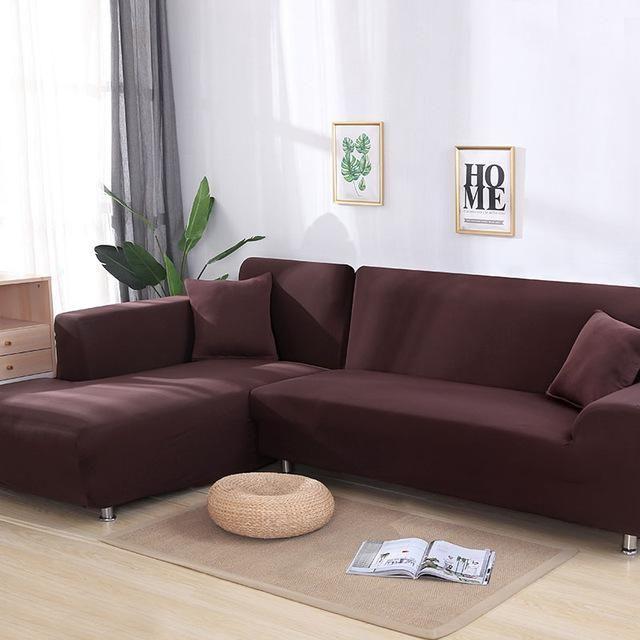 Original Miraclesofa Single Color Universal Sofa Cushion Cover Corner Sectional Sofa Corner Sofa Covers Sofa Covers