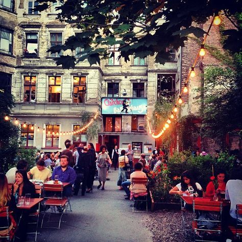 Clärchens Ballhaus in Berlin - lovely place with huge terrace in front and…