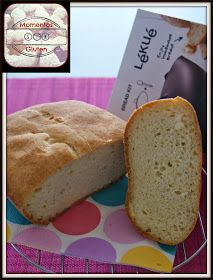 momentossingluten: Pan Básico con molde Lékué (sin gluten)