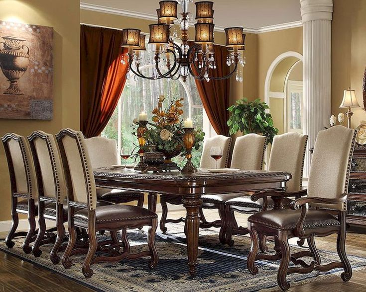 The Descanso Formal Dining Room Collection 15394
