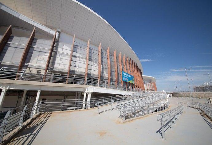 Arena Carioca 2 - Parque Olímpico Rio 2016 (Foto: Renato Sette Camara/Prefeitura do Rio)
