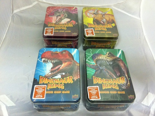 Dinosaur King Trading Card Game RARE Collector Tin - Various Colours Brand New from Clubit Ebay Store £7.97