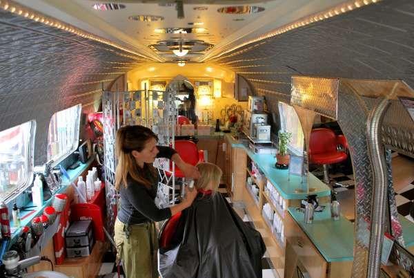 64 best ideas about mobile salon ideas on pinterest for Abc beauty salon