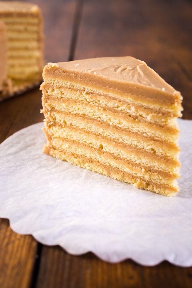 Caroline S Cakes  Layer Caramel Cake Recipe