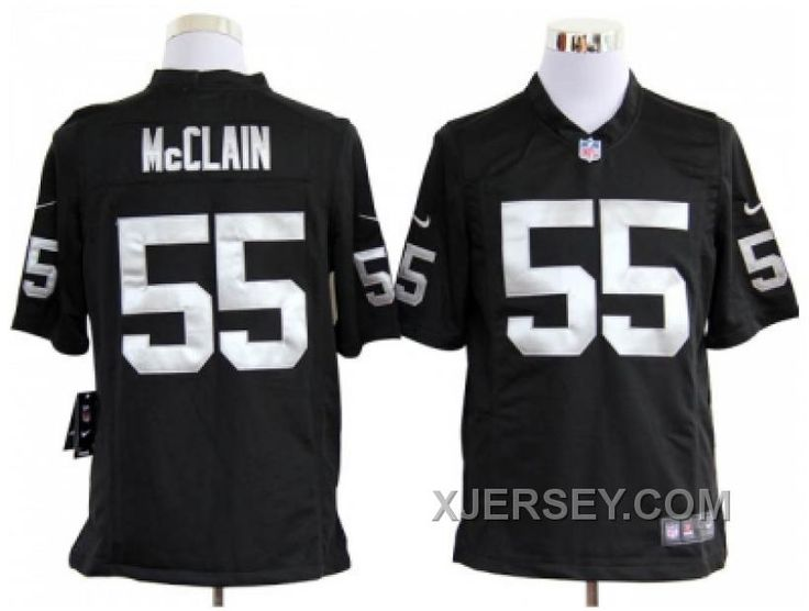 http://www.xjersey.com/cheap-nike-oakland-raiders-55-mcclain-black-game-jerseys.html CHEAP NIKE OAKLAND RAIDERS #55 MCCLAIN BLACK GAME JERSEYS Only $38.00 , Free Shipping!