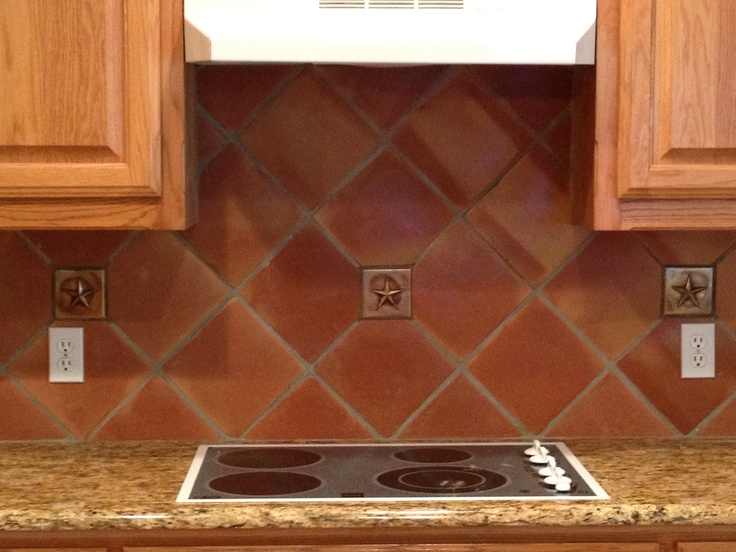 17 best images about traditional saltillo tile for the for Terracotta kitchen ideas