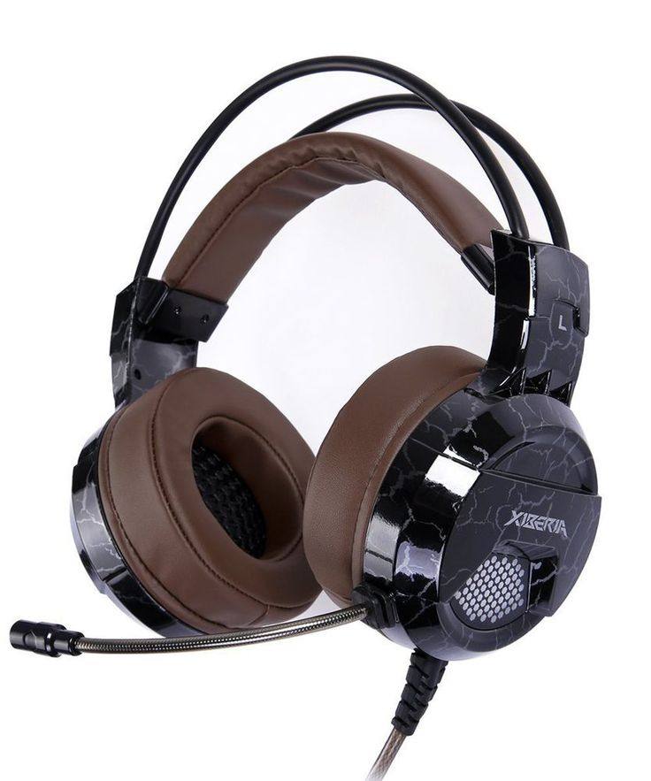 Gaming Headset with Microphone Headphones USB Wired Surround Sound Over Ear Pro  #GamingHeadsetwithMicrophoneHeadphones