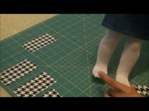 How to Make Tom's Like Shoes for American Girl Dolls Using Duct Tape