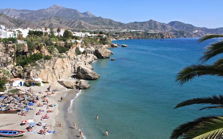Playa Calahonda, Nerja, Spain