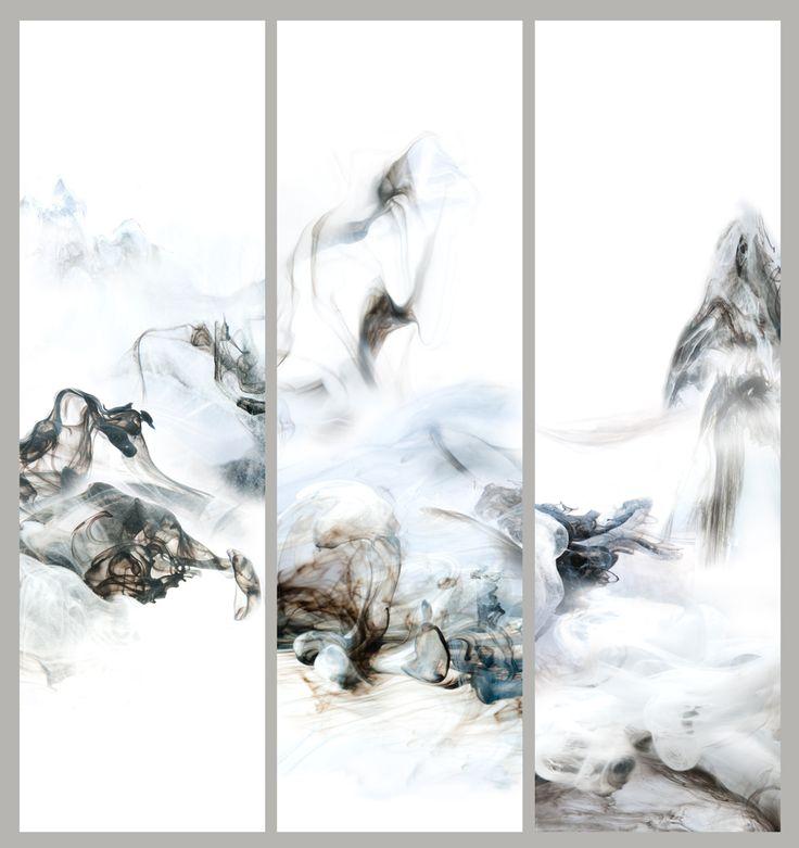 """""""乐动我心""""   Lu Jun Digital Ink   Link:  http://lujun.artron.net"""