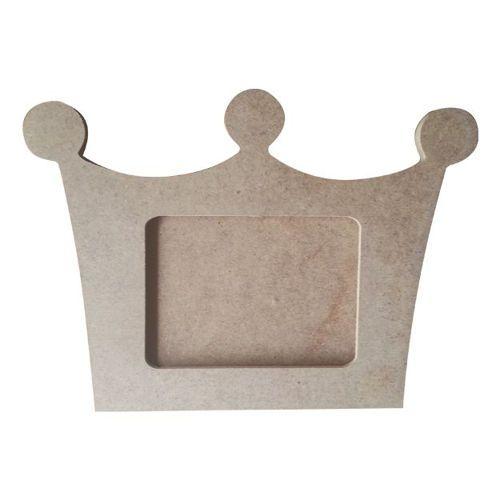Ana sayfa :: Hobi Yardımcıları :: Ahşap Objeler :: Ayna ve Resim Çerçeveleri :: Kral Tacı Çerçeve 30x20 cm. Ahşap Obje