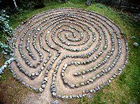 Laying out a Labyrinth