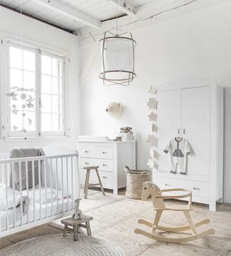 Almost al white nursery! Crispy clean baby's room Mi cuarto mola | Ventas en Westwing Más