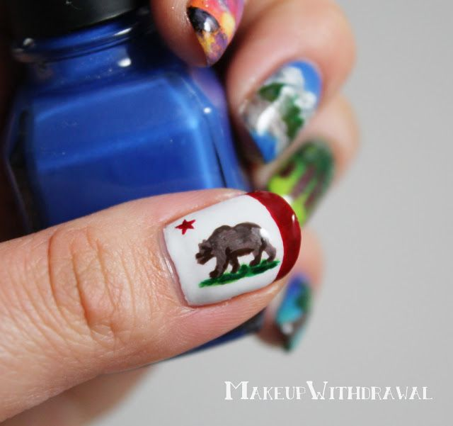 The 25 best california nails ideas on pinterest vacation nails makeup withdrawal california nails prinsesfo Choice Image