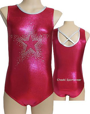 Size 6,8,10,12  Leotard/Rhinestones - Gymnastic, Dance, Leotard