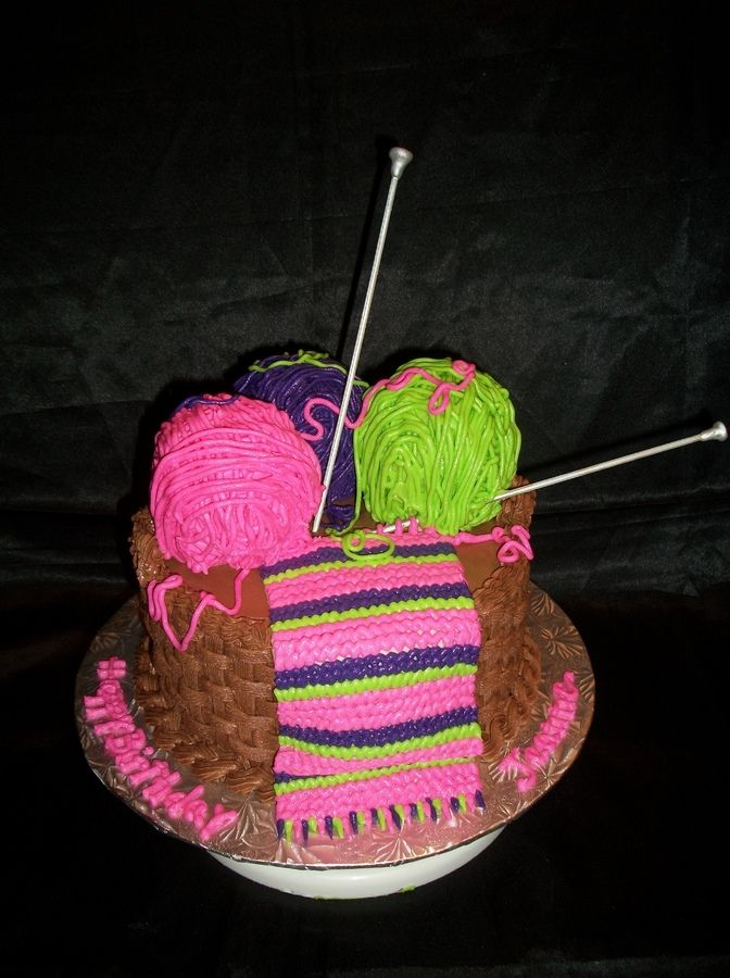 Knitting Cake Toppers : Images about fun cakes cupcakes on pinterest