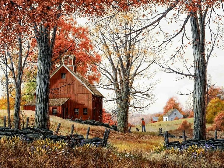 autumn walkArt, Fall, Country Living, The Farms, Autumn Walks, Children, Fred Swan, Country Life, Autumn Farms