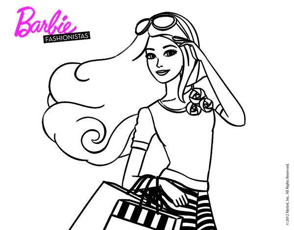 dibujos de barbie quiero ser para colorear - Buscar con ...