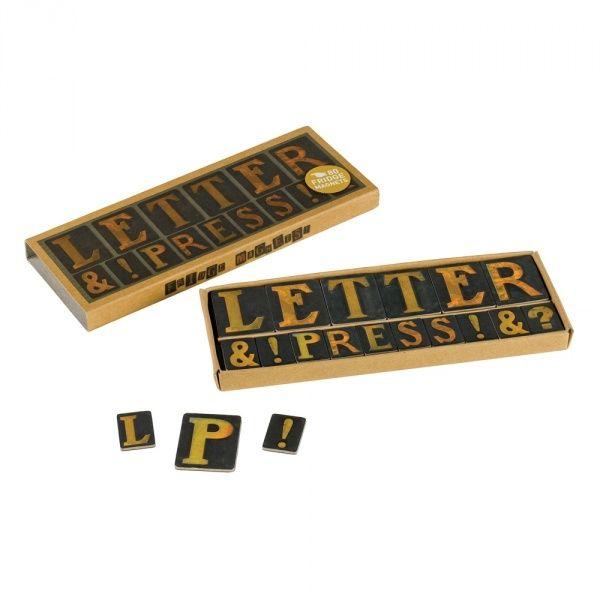 Letter Press Magnets | Wild #wildandwolf