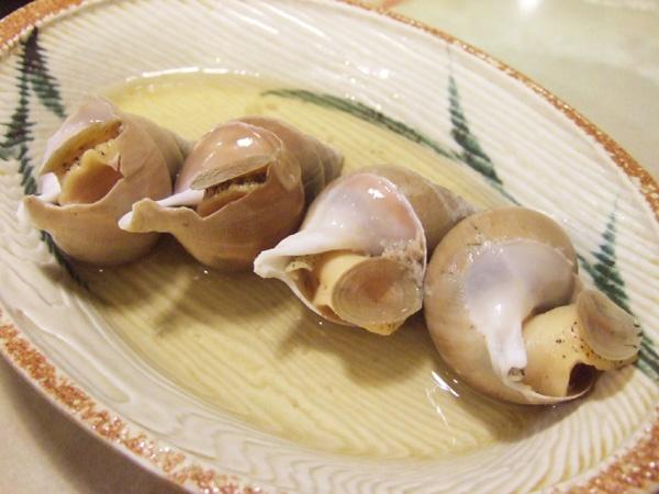 刺身BAR 河岸頭 - ツブ貝の煮付け