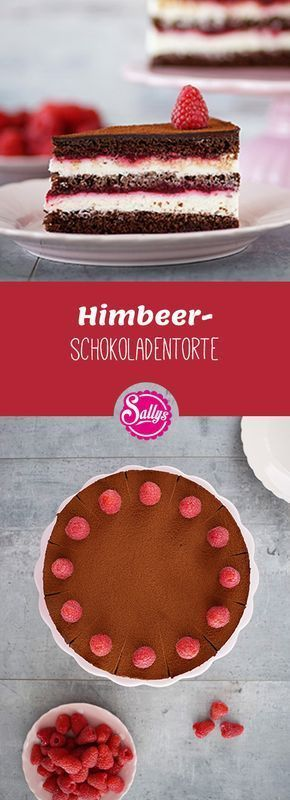 Este bolo de chocolate framboesa Bolo nu gosto muito frutado delicioso!