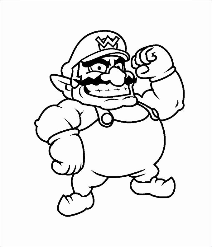 32 Super Mario Coloring Page In 2020 Mario Coloring Pages