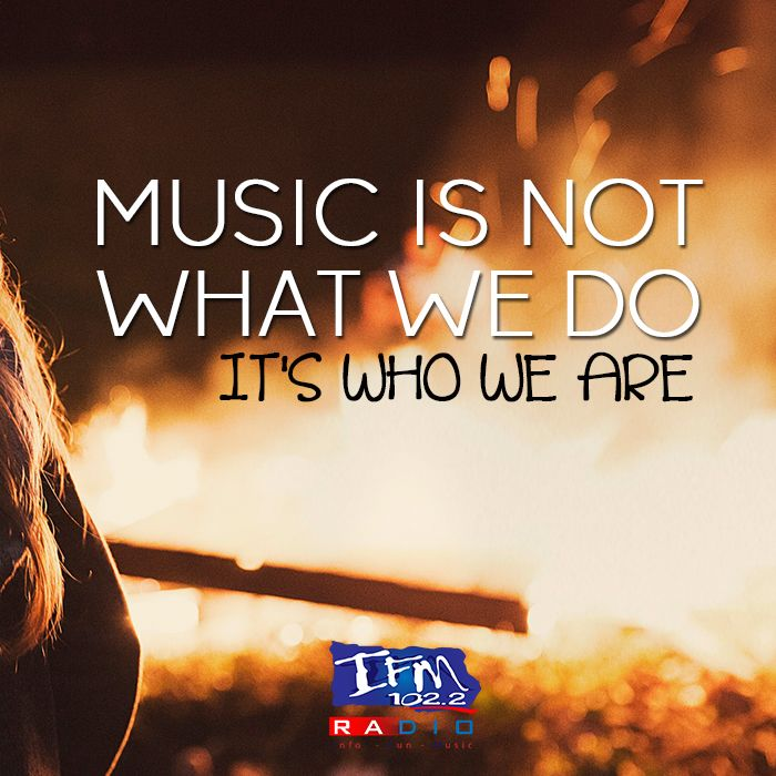 Truth! It's part of us. #fortheloveofmusic