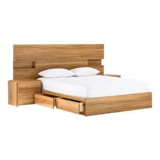 Best 25 Timber Bedhead Ideas On Pinterest Timber Bed