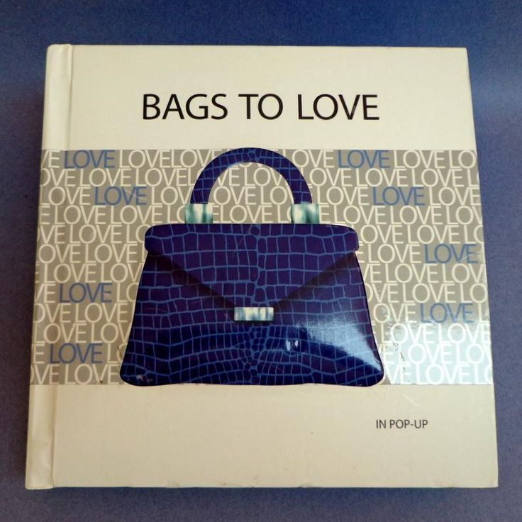 Bags to Love in Pop-Up.  Incredible illustrations, Pop-Ups, Fold-Outs &amp…