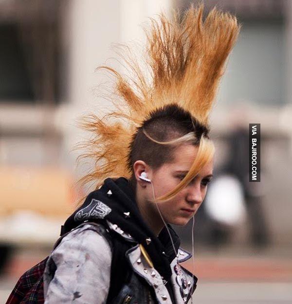 bizarre hair
