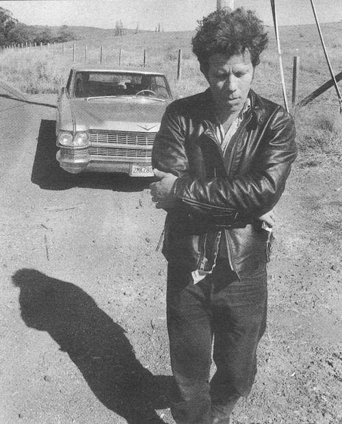 Tom Waits (early 90's) photo by Jim Jarmusch