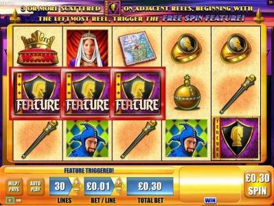 black knight free play slots