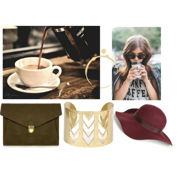 coffee break by lenahcaruana on Polyvore featuring art and citylife: