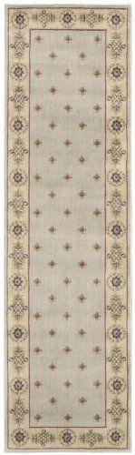 Nourison Zanibar Casual Living Gold 5.6-Feet Diameter Polyacrylic Area Rug by Nourison. $54.90. Power loomed in China; 50% polypropylene, 50% acrylic. 100% Polyacrylic. Rug pad recommended. Dry clean recommended. Densely woven, strikingly luxurious pile; traditional style. Machine woven in China. In this distinctive collection, premium quality Opulon yarns are used to create a densely woven and strikingly luxurious pile. The fashion appeal of the color palette is warmly enhance...