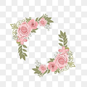 Pink And Green Wedding Invitation Decoration Bunga Alam Musim Panas Png Transparent Image And Clipart For Free Download Pink Watercolor Flower Pink Roses Wedding Green Wedding Invitations
