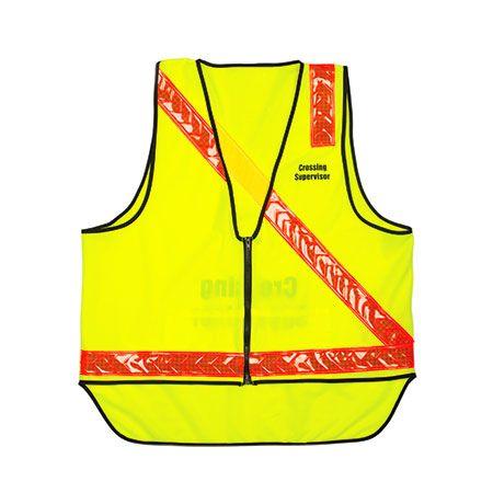 School Crossing Safety Day Night Vests