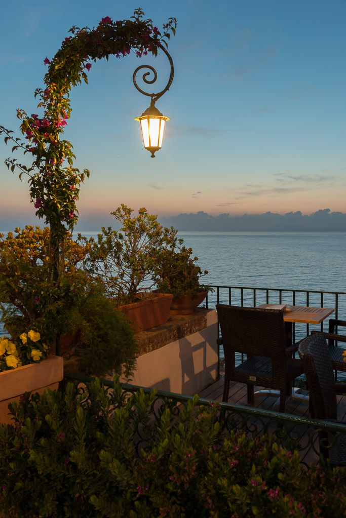 Sorrento, Italy 2013 ~ Sunset at the Villa Garden Hotel Photo by Jason Wallace
