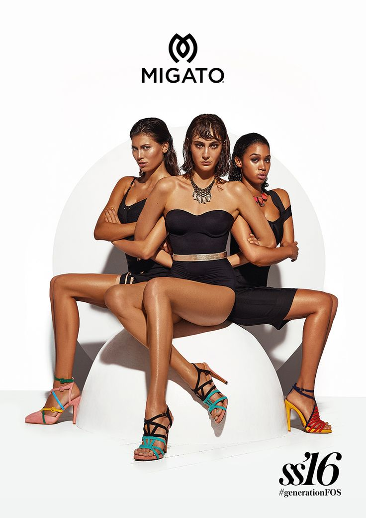 MIGATO SS16 campaign The new #generationFOS is here!