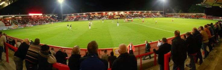 Broadhall Way - Panoramic - Stevenage FC
