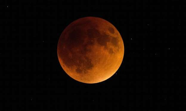 A lunar eclipse in 2015. The moon will once again be a special sight on Jan. 31, 2018.