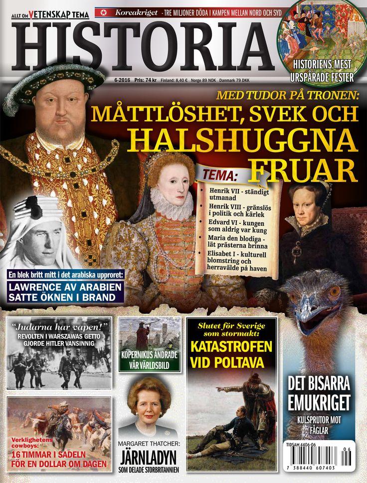 Under Henrik VIII grundlades Englands herravälde till sjöss. Reformationen blev ett faktum under hans regeringstid. Men Henrik VIII gick inte till historien för sina politiska insatser. Historien om Henrik är en blandning av lyxliv, lidelser och...