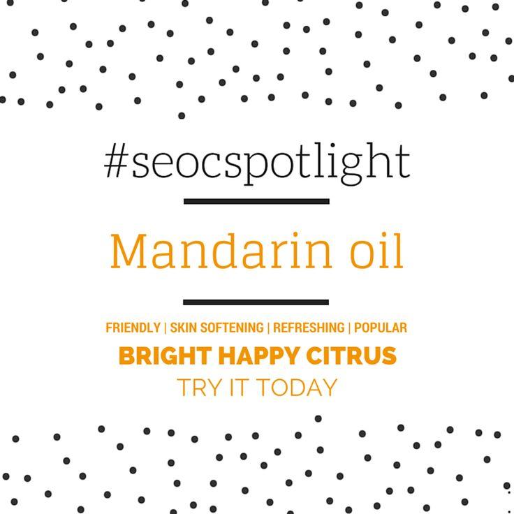#SEOCSpotlight | Mandarin Oil Argentina | New Essential Oil | Online at www.seoc.com.au