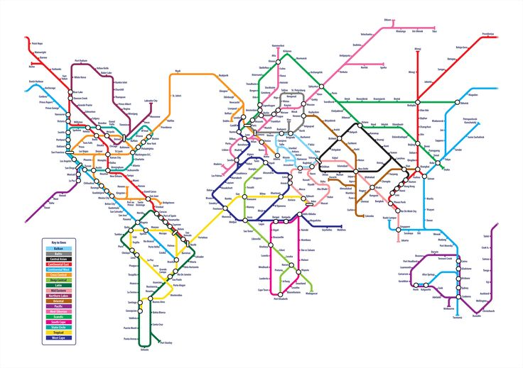 World Tube Map - Design - ShortList Magazine