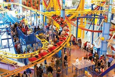 Galaxy Land in West Edmonton Mall in Canada <3