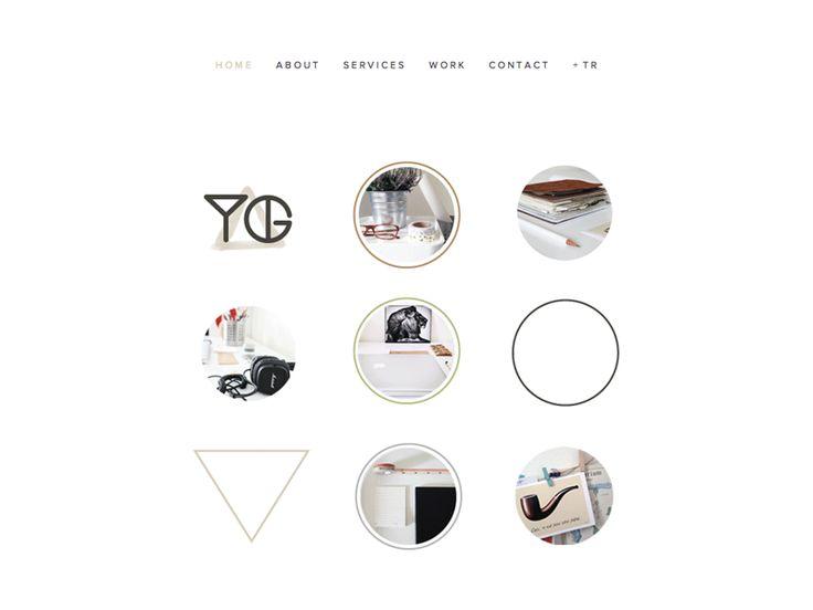 YG Design / website / portfolio design